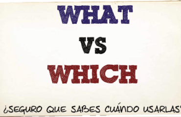diferencias entre what y which