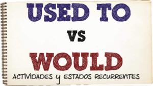 estados recurrentes en ingles USSED TO y WOULD