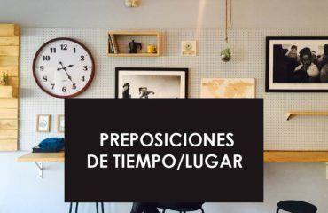 Preposiciones in, on, at